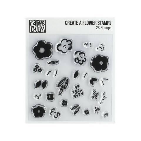 10432 simple stories carpe diem stamp create a flower
