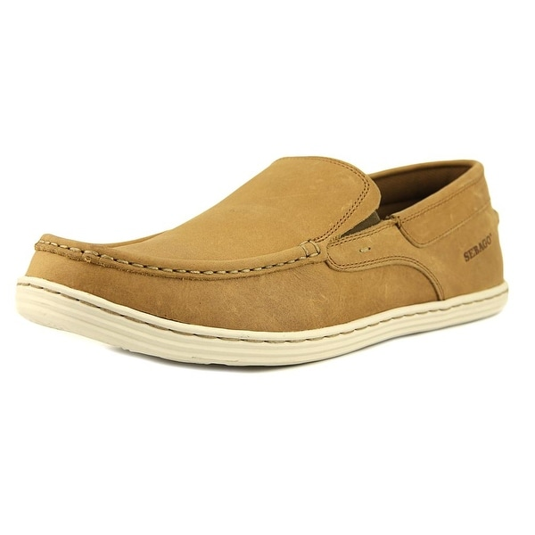 Sebago Barnet Slip On Women Plain Toe Leather Tan Loafer