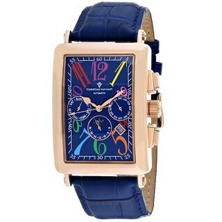 Christian Van Sant Men's Prodigy CV9144 Blue Dial Watch
