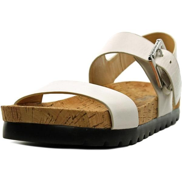 Michael Michael Kors Judie Sandal Open-Toe Leather Slingback Sandal