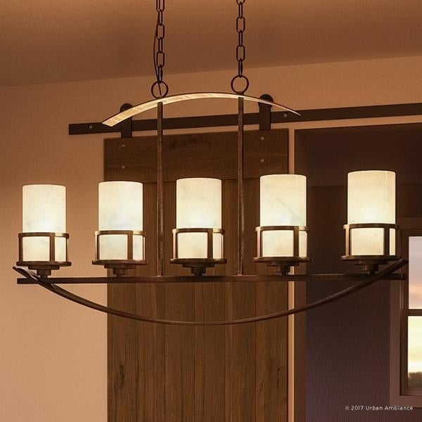 Luxury Rustic Chandelier 23 H X