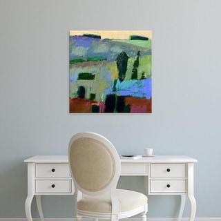 Easy Art Prints Jane Schmidt's 'From What I Heard' Premium Canvas Art