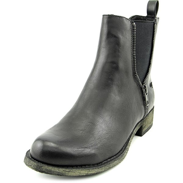 Rocket Dog Camilla Women Round Toe Synthetic Black Ankle Boot