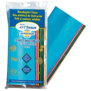Pacon - Spectra Art Tissue Sheet - 20-Sheet Pack - Bright Colors