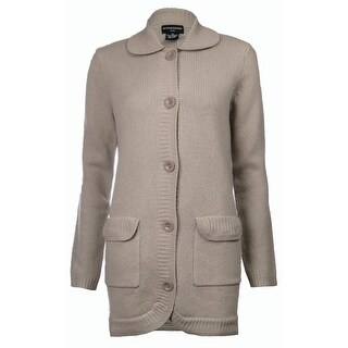 Sutton Studio Women's Button Sweatercoat Misses