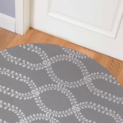 LINK GREY Indoor Floor Mat By Kavka Designs