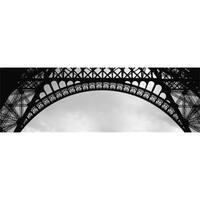 Close Up of Eiffel Tower Paris France Poster Print, 36 x 12