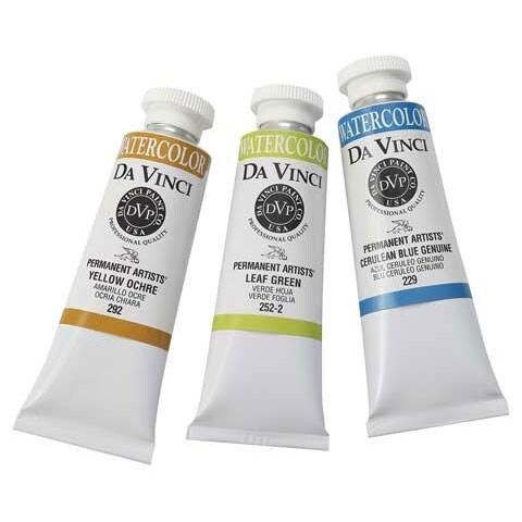 Da Vinci Paints - Professional Watercolor - 37ml Tube - Burnt Sienna Deep
