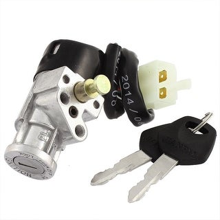 Motorbike Electric Four Wires Ignition Switch Lock W Keys For DY100