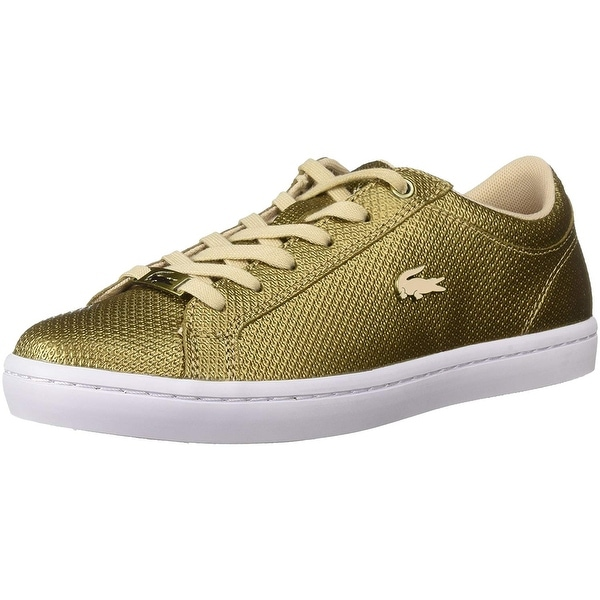 2d7ec697766 Shop Lacoste Women s Straightset Sneakers - 8 - Free Shipping Today ...