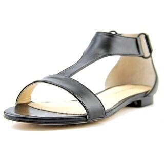 Carmen Marc Valvo Giselle Women Open Toe Leather Sandals