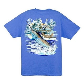 Guy Harvey Mens GH MARLIN BOAT