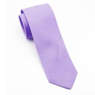Men's 100% Silk Mauve Tie