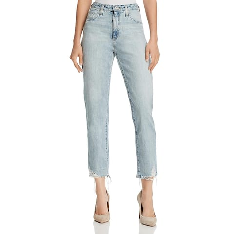 AG Adriano Goldschmied Womens Tapered Leg Jeans Denim Dirt Wash - Bering Wave - 25