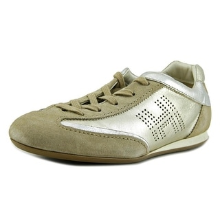 Hogan Olimpia Donna Con Slash Laterle Leather Fashion Sneakers