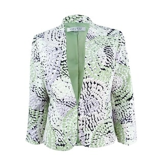 Link to Kasper Women's Mosaic-Print Blazer Similar Items in Suits & Suit Separates