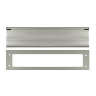 Deltana MS0030U15 Heavy Duty Mail Slot #44; Satin Nickel - Solid