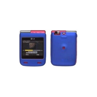 Soft Touch Case for LG Lotus Elite / Mystique UN610 - Blue