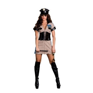 Highway Patrol Cop Police Officer Willy Rider Costume Adult