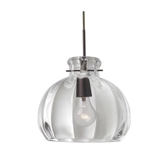 besa lighting 1jt464488 pinta 1 light pendant with clear shade
