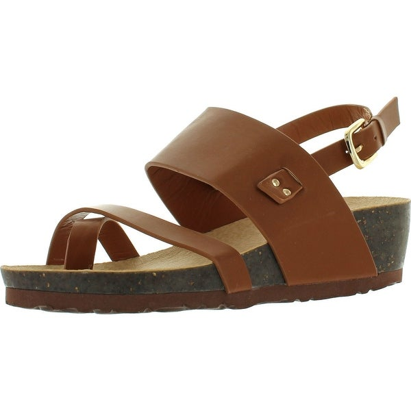 Bonnibel Hypo-1 Womens Casual Footbed Sandals - Brown
