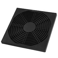 Unique Bargains Black Plastic Fan 172 x 172mm Dustproof Dust Filter Guard Protector