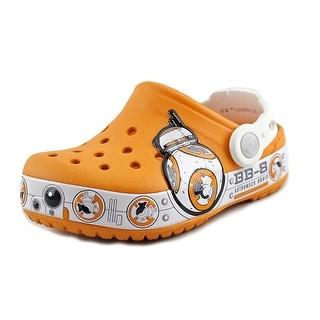 Crocs CC Star Wars Toddler  Round Toe Synthetic Orange Clogs