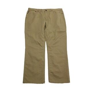 Polo Ralph Lauren Beige Hampton Straight-Fit -Pocket Pants - 36