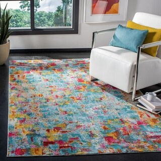 Safavieh Handmade Luxor Bistra Contemporary Abstract Rug