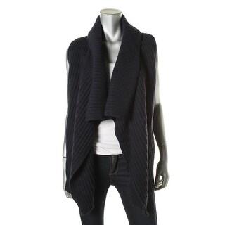 Joie Womens Sleeveless Open Front Cardigan Sweater