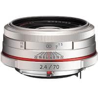 Pentax HD Pentax DA 70mm f/2.4 Limited Lens (Silver) - Silver