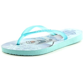 Havaianas Frozen Open Toe Synthetic Flip Flop Sandal