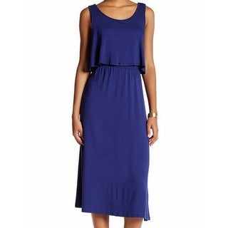 Kensie NEW Deep Blue Womens Size XS Popover Scoop-Neck Sheath Dress
