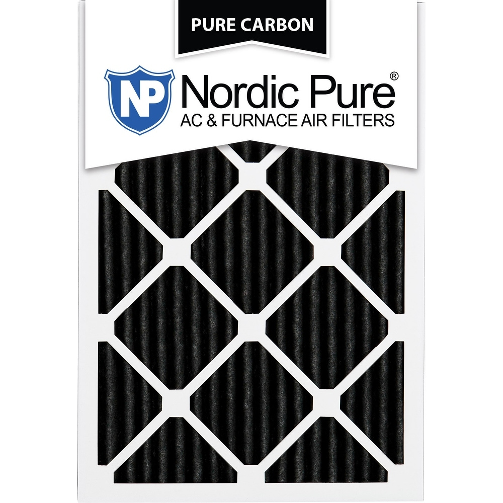 12x20x1 Pure Carbon Pleated AC Furnace Air Filters Qty 24