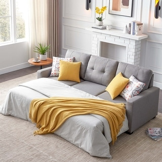 Link to Reversible Sleeper Sectional Sofa with Storage(Pillows Not Included) Similar Items in Sofas & Couches