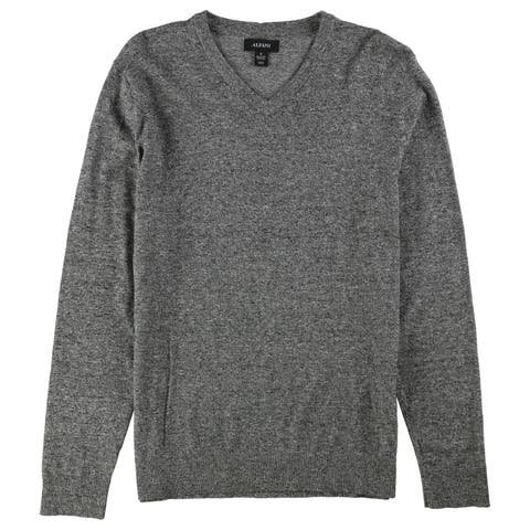 Alfani Mens V-Neck Pullover Sweater