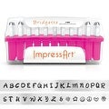 ImpressArt 33-Piece Deluxe Uppercase Alphabet Stamps 'Bridgette' 1/8 Inch (3mm) - 1 Set - Thumbnail 0