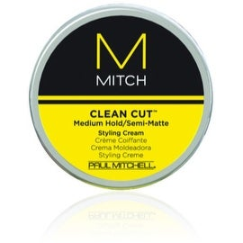 Paul Mitchell Clean Cut Medium Hold/Semi-Matte Styling Cream, 3 oz