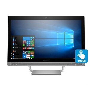 """Refurbished - HP Pavilion 27-A240SE 27"""" Touch AIO PC Intel i7-7700T 2.9GHz 16GB 1TB Win10"""