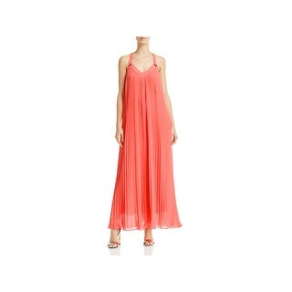 MICHAEL Michael Kors Womens Maxi Dress Pleated Grommet (3 options available)
