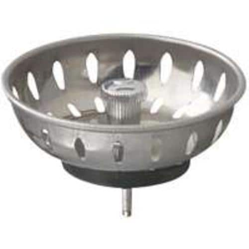 Plumb Pak PP22022 Fixed Post Strainer Basket, Stainless Steel