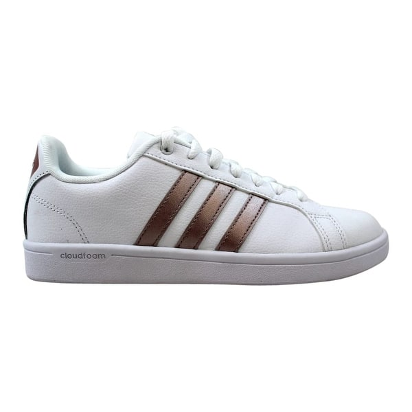 outlet winkel outlet winkel waar te kopen Shop Adidas Women's CF Advantage W White/Grey Metallic ...
