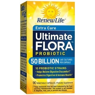 Renew Life Ultimate Flora Extra Care Probiotic 50 Billion - 90 capsules