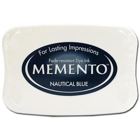 Tsukineko Memento Ink Pad Nautical Blue
