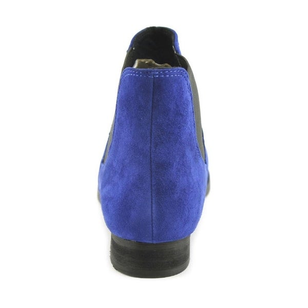Shellys London Womens BRAZDOVA Suede Closed Toe Ankle Chelsea Boots