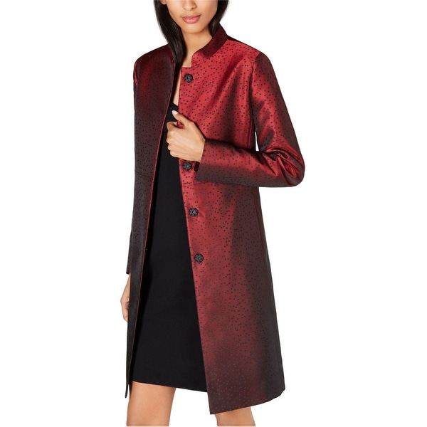 Anne Klein Womens Dot Topper Jacket. Opens flyout.