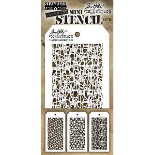 Tim Holtz Mini Layered Stencil Set 3//pkg-set #19