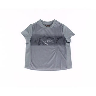 Greg Norman For Tasso Elba NEW Gray Boys Size XS Performance Tee T-Shirt 212
