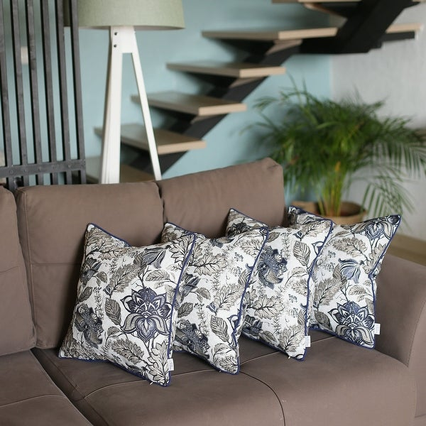 Jacquard Weaver Throw Pillow Covers (Set of 4). Opens flyout.