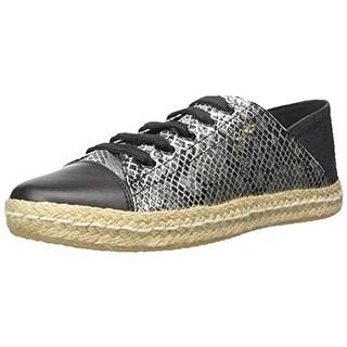 Geox Womens Modesty Leather Fashion Oxfords - 10 medium (b,m)